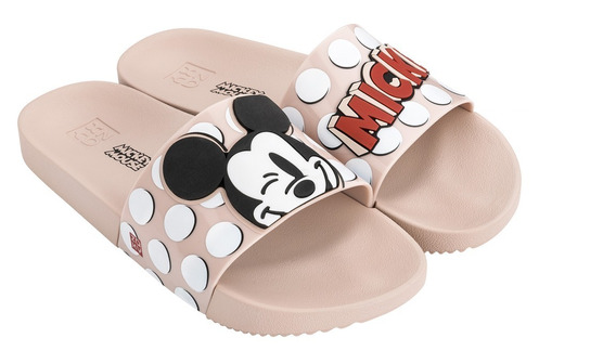 Chinelo Feminino Zaxy Pop Mickey Slide Colonelli 17977