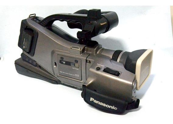 Filmadora Panasonic Minidv Ag-dvc10p Em Excelente Estado!