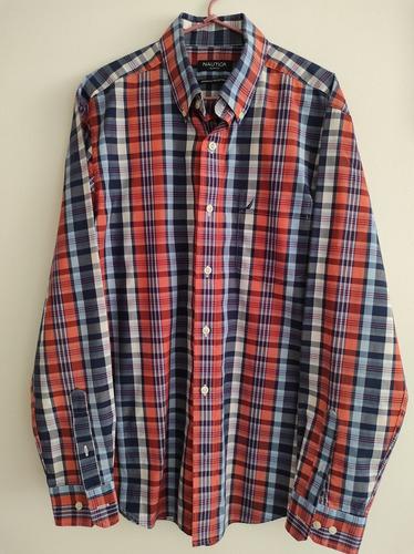 Camisa P Hombre Náutica Marca Original