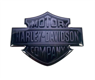 Adesivo Harley Davidson Brasil Resinado Rs39 Fk