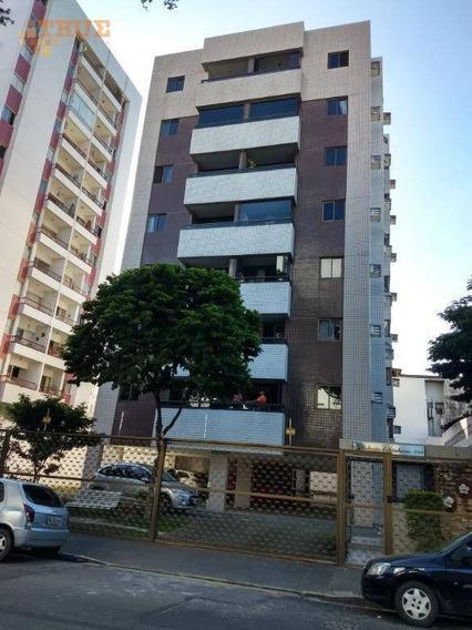 Apartamento Em Ótima Localização Com 2 Dormitórios À Venda, 55 M² Por R$ 300.000 - Espinheiro - Recife/pe - Ap3508