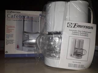 Cafetera Emerson 12 Tzas Nueva