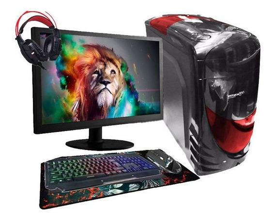 Pc Gamer Completo Aires Core 2 Duo Gpu R7 240 4gb Hd 1tb