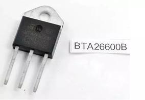 Kit Com 2 Transistor Bta26-600b Originais