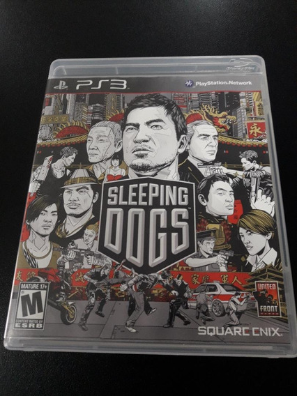 Sleeping Dogs Ps3 Midia Fisica - Seminovo