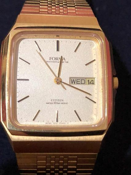 Relógio Citizen Forma Social Raríssimo