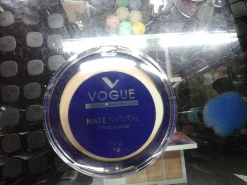 6.7$ Maquillaje Polvo Compacto Maximo Cubrimiento Vogue Orig