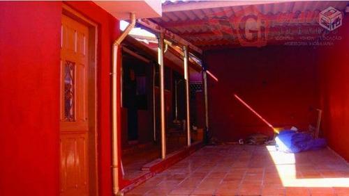 Casa Para Venda Em São Paulo, Jardim Campo Limpo, 2 Dormitórios, 1 Banheiro, 2 Vagas - Ca0089_1-1010077