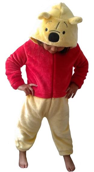 Mameluco Disney Niña Con Gorro Bordado Pooh