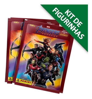 Kit De Figurinhas Avengers: Endgame 12 Envelopes Vingagores