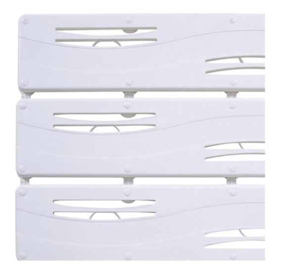 Tapete Antiderrapante Para Box 42x55cm Branco