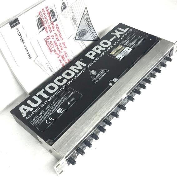 Compressor Behringer Autocom Pro Xlmdx 1600 Com Manual