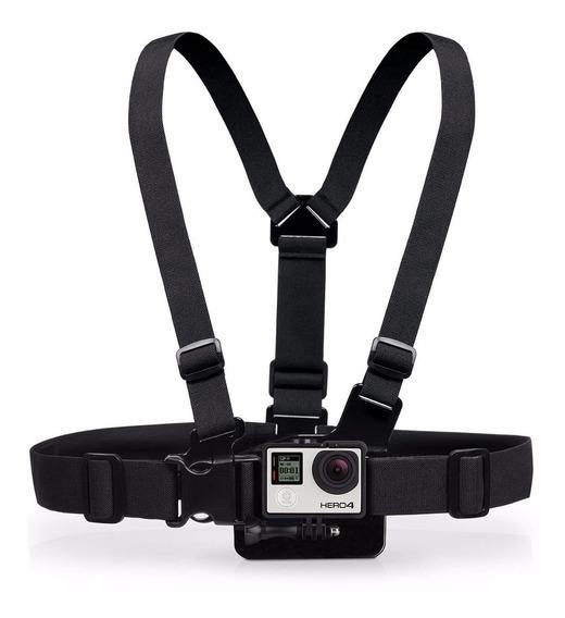 Cinturão Suporte Peitoral Acessórios Câmera Gopro Hero 4 3