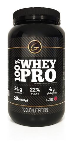 Proteína - 100% Whey Pro 2lb - Gold Nutrition
