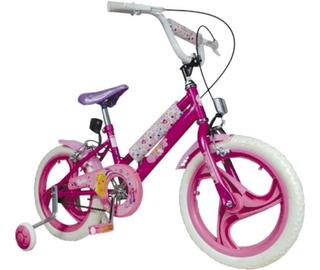 Bicicleta Niñas Rodado 16 Barbie Unibike