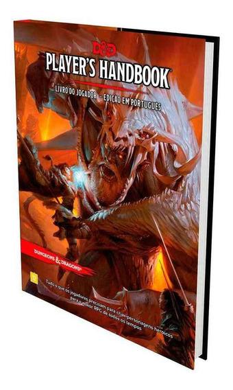 Dungeons Dragons Players Handbook Livro Do Jogador Rpg Pt Br