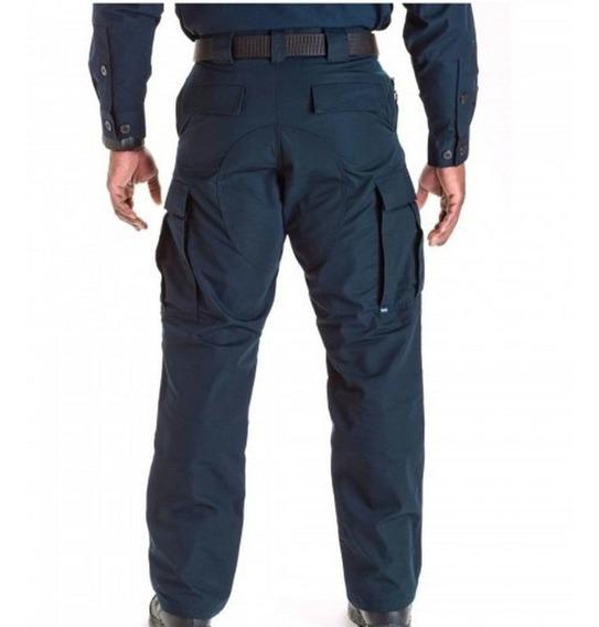 Pantalon Tactico Azul Talla 36 Marca Protactic