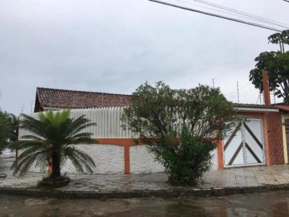 Excelente Casa No Balneário Gaivota, Em Itanhaém, Cod.5486