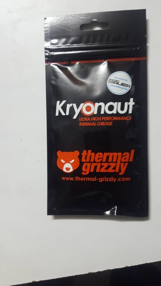 Pasta Termica Thermal Grizzly Kryonaut 12.5 W/mk 1g