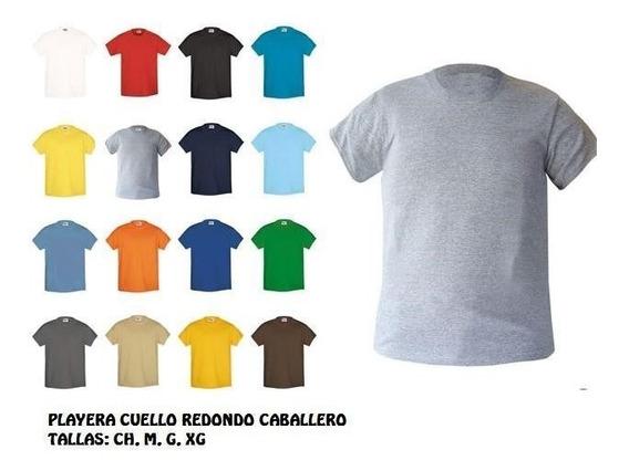 Playera Cuello Redondo Sublimar Varios Colores