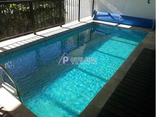 Casa De Rua À Venda, 4 Quartos, 1 Suíte, 3 Vagas, Humaitá - Rio De Janeiro/rj - 4254