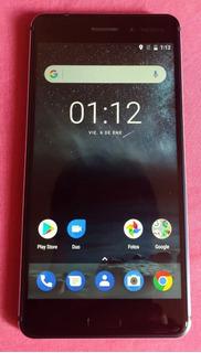 Nokia 6 Ta-1039, Color Azul, Liberado, Estética 9