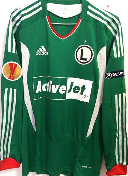 Camisa Legia Varsóvia Preparada Jogo Europa League 2012/13