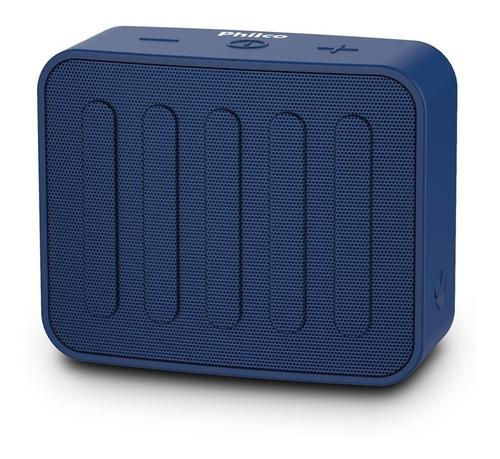 Alto-falante Philco Go PBS10BT portátil com bluetooth azul 110V/220V
