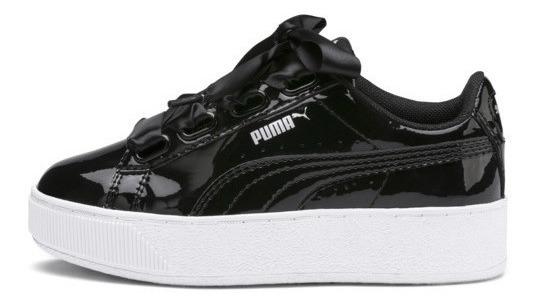 Zapatillas Niñas Puma Vikky Platform Ribbon/ Brand Sports