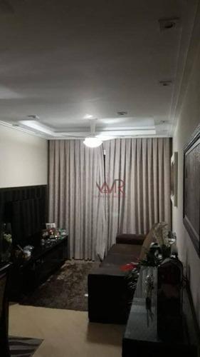 Apartamento À Venda, 60 M² Por R$ 350.000,00 - Cidade Patriarca - São Paulo/sp - Ap1007