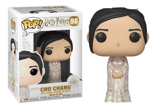 Funko Pop! Cho Chang #98 Harry Potter Jugueteria Pehuen