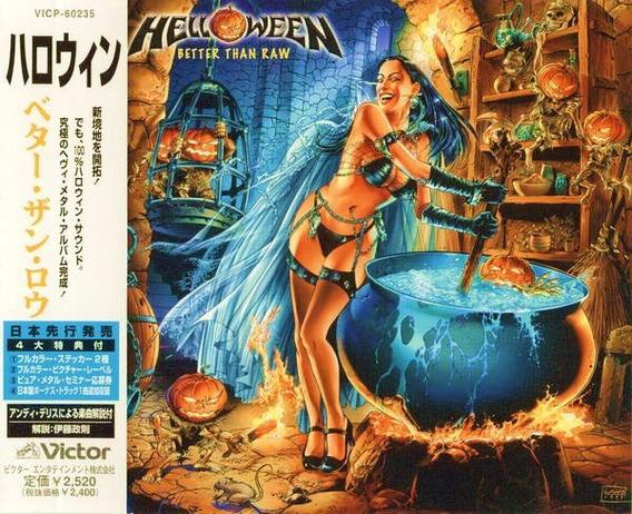 Helloween Better Than Raw - Audio Cd Japan