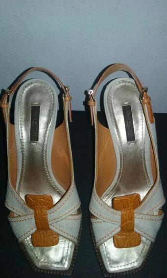 Sandalias Louis Vuitton Made In Italy Cuero Rafia Sale!