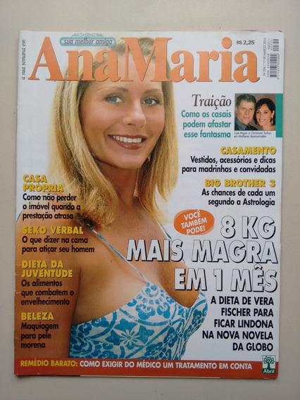 Revista Ana Maria 336 Regina Case Dietas Beleza Sexo B450