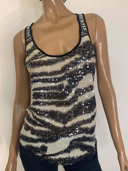 Musculosa Lentejuelas - Sweet Night L