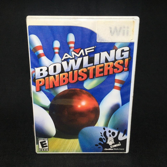 Wii Amf Bowling Pinbusters Mercadolivre Com Br