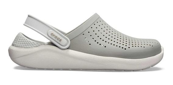 Crocs Literide Clog Smoke-pearl White C204592-c06j Hombre C2