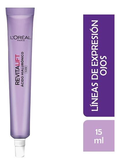 Crema Ojos Anti Arrugas Revitalift Ácido Hialurónico 15ml