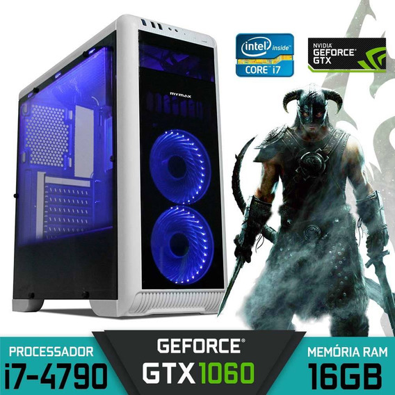Pc Gamer Core I7-4790 Ram 16gb Gtx 1060 Ssd 120gb Hd 1tb
