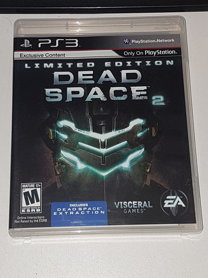 Dead Space 2 Limited Edition Ps3 Ótimo Estado Físico