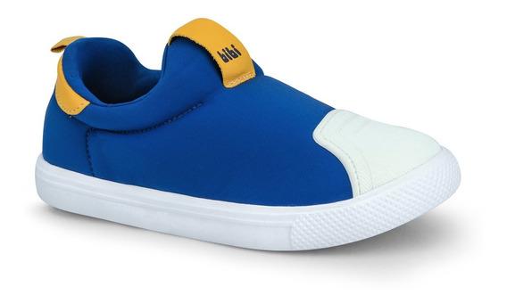 Tênis Infantil Bibi Masculino Azul Agility Mini 1046220