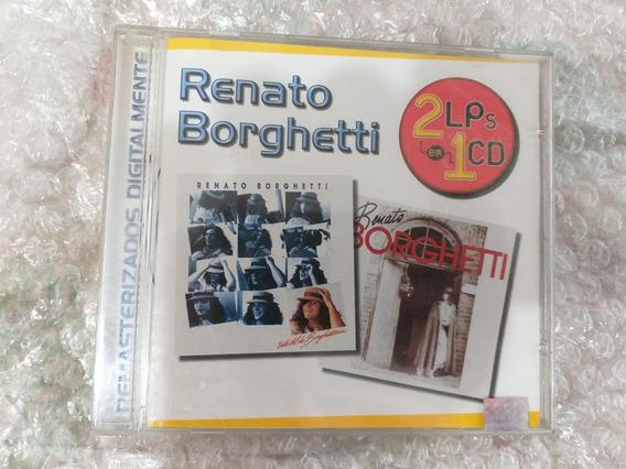 Cd Renato Borghetti 2 Lps Em 1 Cd Esse Tal De Borguetinho