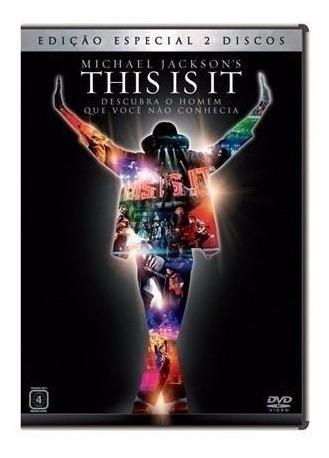 Dvd Michael Jackson This Is It Duplo Edição Especial 2 Dvds