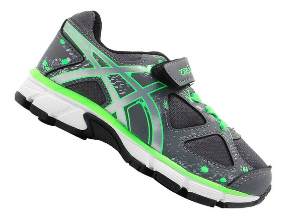 Tênis Asics Infantil Gel Light Play Menino Cinza C009a1693