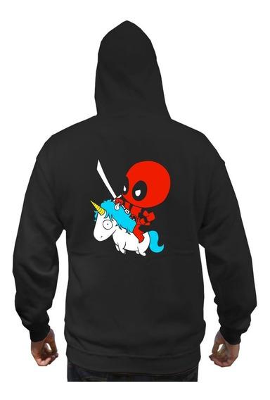 Sudadera Deadpool Unicornio Envio Gratis