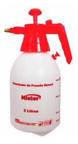 Pulverizador Com Pressão Prévia 2 Litros Mister 3x S/juros