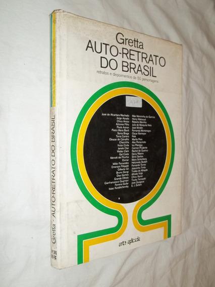Livro - Auto-retrato Do Brasil - Gretta