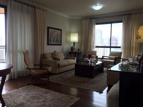 Apartamento Com 3 Dormitórios De 160 M² - Vila Mariana - São Paulo/sp - Ap11739