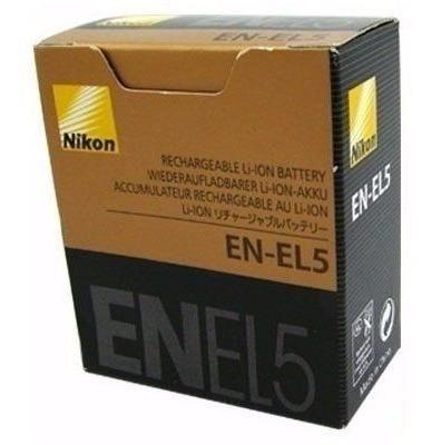 Bateria Nikon En-el5 Original Camera Coolpix P500 P510 P520