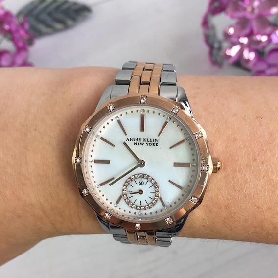 Relógio Anne Klein Nova York - Original #2305mprt